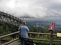 Nahende Regenfront von der Bergstation der Freiburger Schauinslandbahn gesehen.jpg