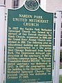 Nardin Park Church Marker.JPG