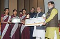 Narendra Singh Tomar conferred the National Awards on Best Performing Women Self-Help Groups and Village Organisations under DAY-NRLM, at a function, in New Delhi (2).jpg