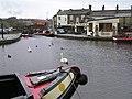 Narrow boats, Skipton Canal (6) - geograph.org.uk - 871379.jpg