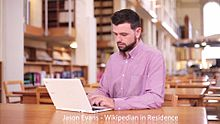 File:National Library of Wales Wikimedian in Residence project presentation 2015.webm