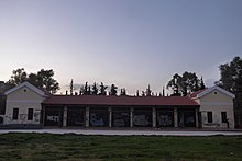 National Resistance Memorial, Kaisariani, Greece. Faced looking at the west.JPG