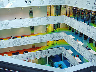 Faculty of Information Technology, Czech Technical University in Prague - Image: National Technical Library