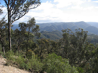 Nattai National Park - Nattai National Park, from Wollondilly lookout.