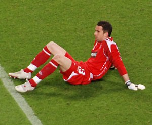 Neil Alexander - Alexander with Rangers in the 2008 UEFA Cup Final