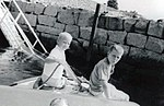 Neil and Jeb Bush at Kennebunkport August 1962.jpg