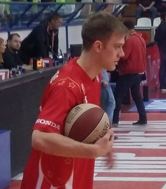 Nate Wolters - Wolters with Crvena zvezda, 2017
