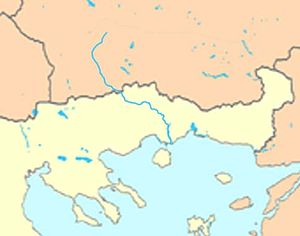 Nestos (river) - Image: Nestos map