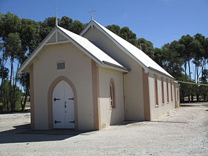 Ebenezer, South Australia - Neukirch Lutheran church in March 2015