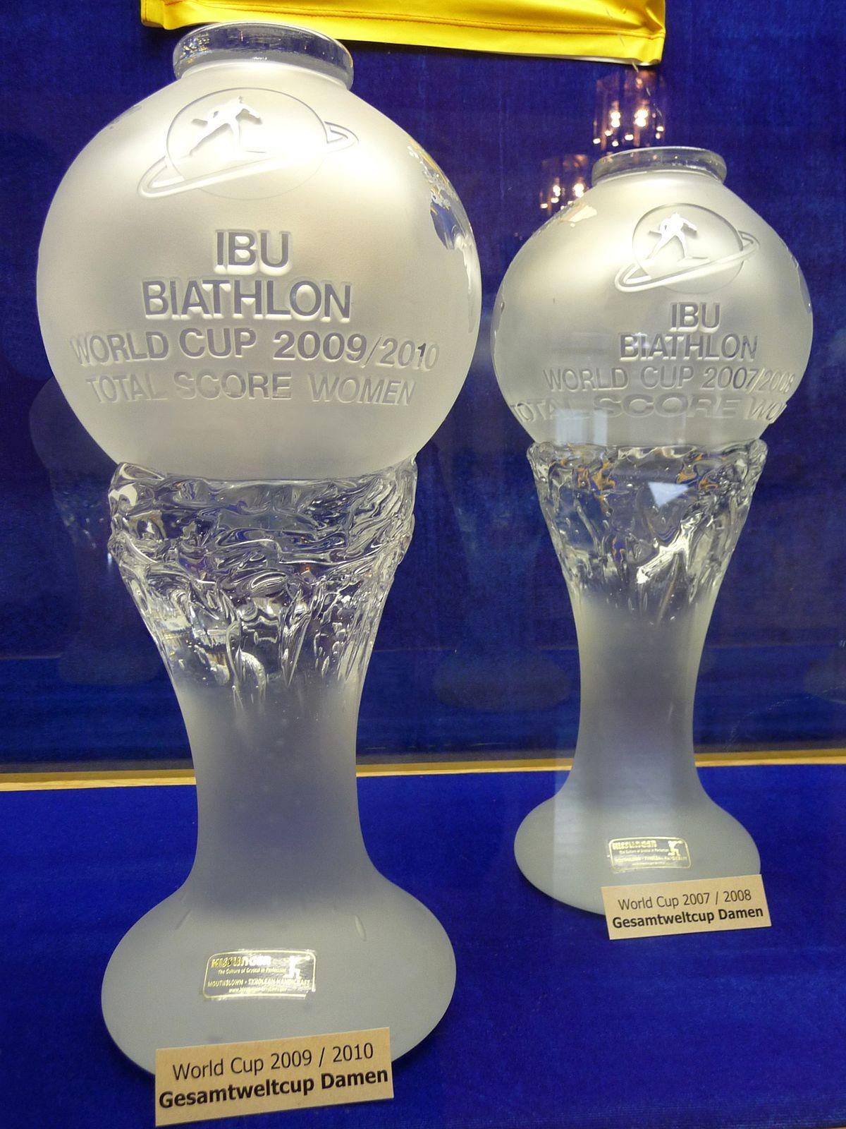 Globe de cristal biathlon wikip dia - Classement coupe du monde de biathlon ...