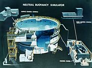 Neutral Buoyancy Simulator cutaway