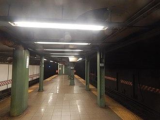 Nevins Street (IRT Eastern Parkway Line) - Platform level