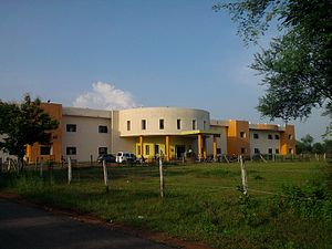 Bilaspur, Chhattisgarh - New IT building GGV Bilaspur