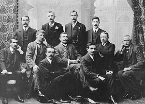 New Zealand Socialist Party - Delegates to the fourth annual conference of the New Zealand Socialist Party, held in Dunedin in 1911.