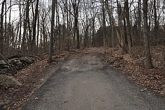 March Route of Rochambeau's Army: Reservoir Road - Reservoir Road