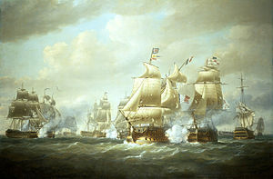 Napoleonic Wars - Battle of San Domingo, 6 February 1806