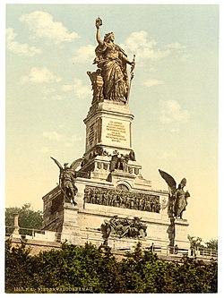 Niederwald Monument, the Rhine, Germany-LCCN2002714118.jpg
