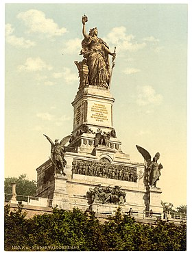 Niederwald Monument, the Rhine, Germany-LCCN2002714118.jpg