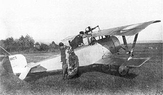 Nieuport 21 French WW1 fighter aircraft