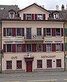 Nikola Pašić (1845–1926) Wohnhaus von 1868 bis1872. Seilergraben 9 in Zürich.jpg