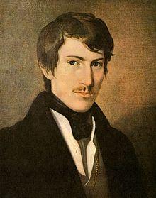 Nikolaus Lenau, Ölgemälde von Friedrich Amerling (Quelle: Wikimedia)