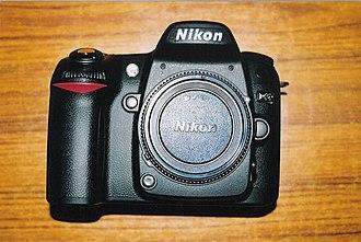Nikon D80 - Image: Nikon D80 body 028