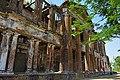 Nimitita Rajbari ruined front facade 03.jpg