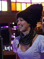 Nina Garenetska (DakhaBrakha) (Haldern Pop 2013) IMGP6625 smial wp.jpg
