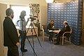 Nobel Prize 2011-Nobel interviews KVA-DSC 8270.jpg