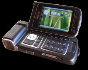 Nokia N93 - Image: Nokia n 93 1