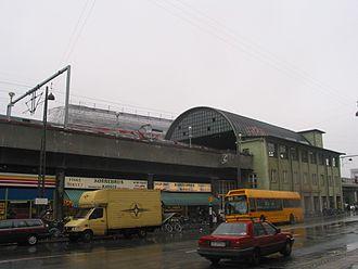 Nørrebro station - Image: Norrebro 1 S