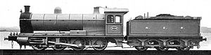 Wilson Worsdell - NER Class T locomotive 2116, designed by Wilson Worsdell