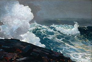 Breezing Up (A Fair Wind) - Image: Northeaster by Winslow Homer 1895