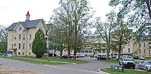 Traverse City State Hospital - Image: Northern Michigan Asylum A Traverse City MI