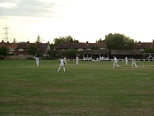 English: Not The Ashes. North Stifford Private...