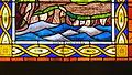 Notre Dame de Placemanec à Groix - Vitrail - Vitrail de Saint Gunthiern, détail 01.JPG