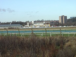 Nottingham Racecourse - The racecourse from the south-east