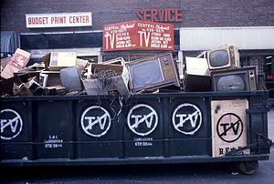 John Fekner - John Fekner, No TV, 1980, Jackson Heights, NY