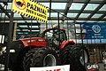 Novi Sad, Poljoprivredni sajam, traktor před budovou veletrhu.jpg