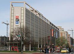 NPR headquarters at 635 Massachusetts Avenue NW in Washington, D.C.