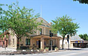 Nuriootpa, South Australia - Memorial hall