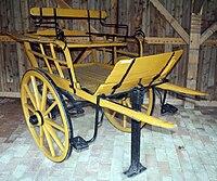 Nyirseg type two-wheel carriage.JPG