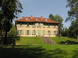 Manor in the village