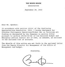 Sample Essay Of Speech Letter From Barack Obama Indicating Appropriation Of Congressional Funds  For Overseas Contingency Operationsglobal War On Terrorism Social Commentary Essay also Huck Finn Essays War On Terror  Wikipedia Polygamy Essays
