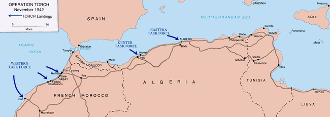 Operation Torch - Wikipedia