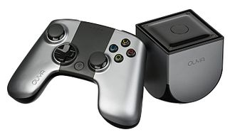 Microconsole - The Ouya is an inexpensive microconsole based on the Android-OS