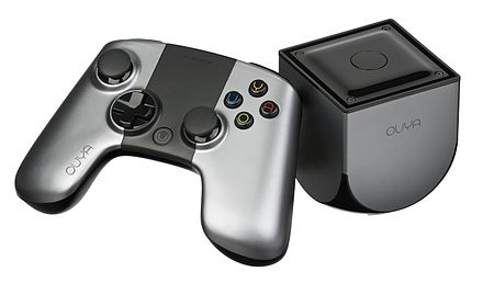 At $8.5 million, the Ouya is the 8th largest successful Kickstarter campaign. OUYA-Console-set-h.jpg