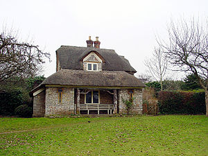 Grade I listed buildings in Bristol - Image: Oak Cottage, Blaise Hamlet