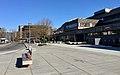 Oasen shopping mall (kjøpesenter, bydelssenter) in Folke Bernadottes vei, Fyllingsdalen, Bergen, Norway. Main entrance, etc. 2018-03-17.jpg