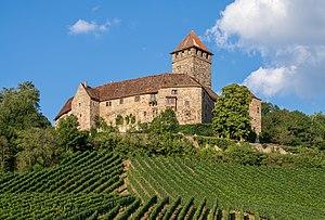 Oberstenfeld - Burg Lichtenberg - Ansicht von WSW (2).jpg